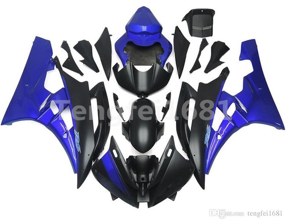 Azul mate negro