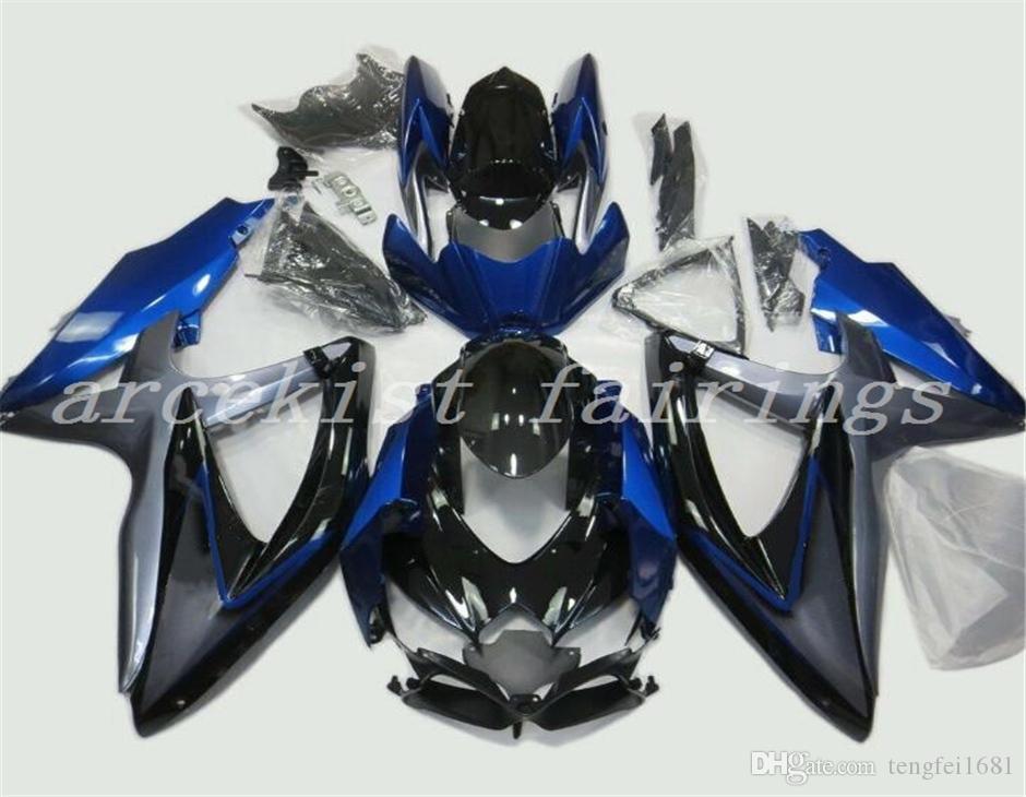 Blue Gray Black
