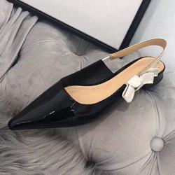Black + bright leather [Flat]