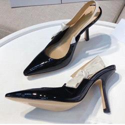 Black + bright leather [10cm]
