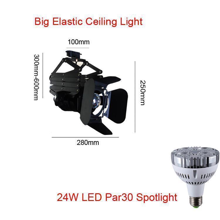 Grande elastico luce di soffitto