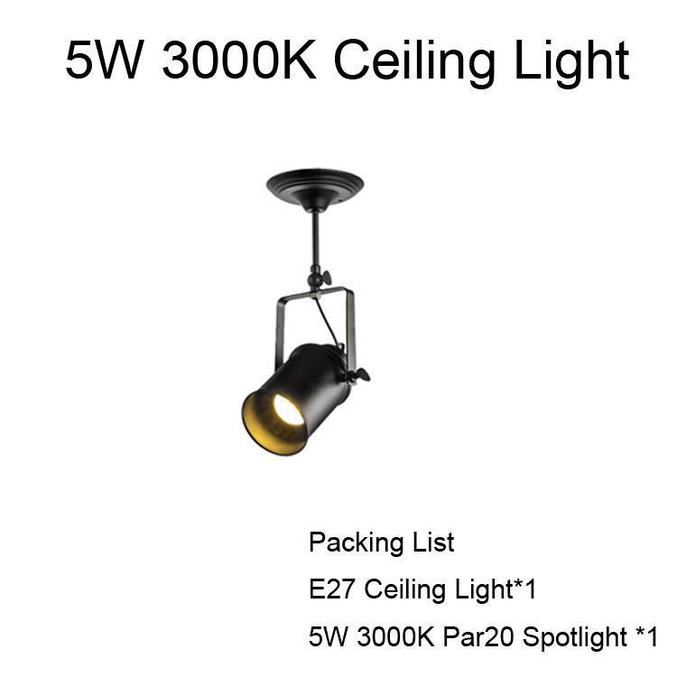 5W Light plafond