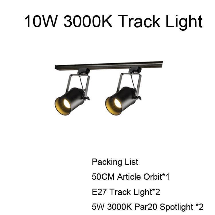10W Lumière de piste