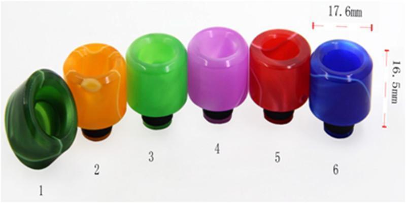 510 pointe acrylique de goutte à goutte (B)