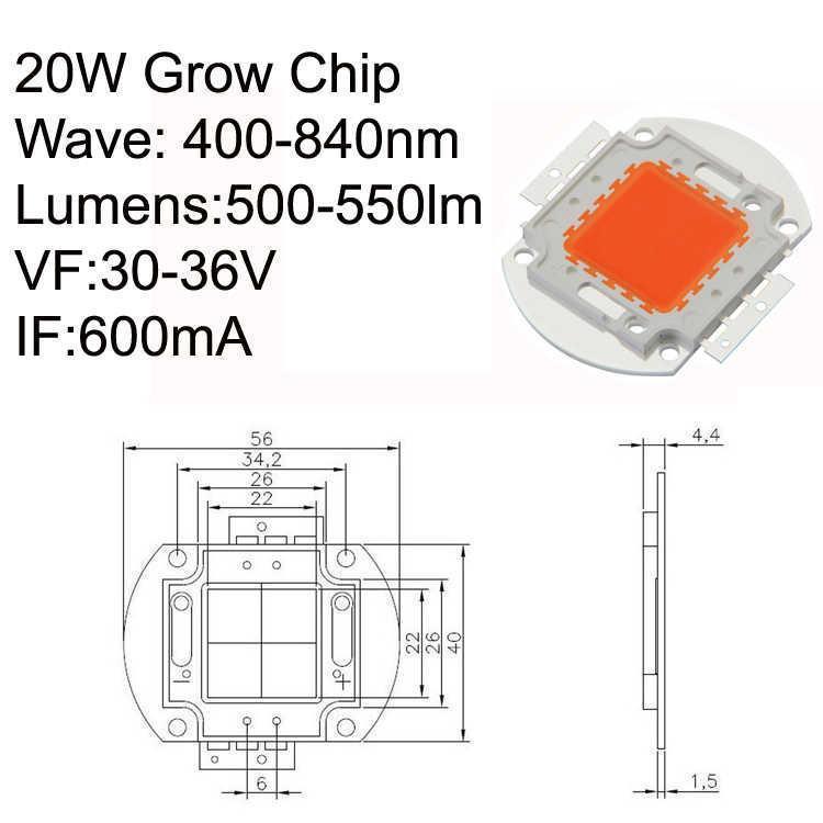 20W LED Chip