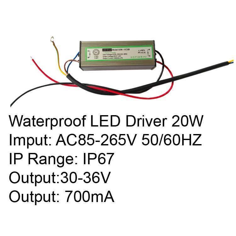20W IP67 LED Driver