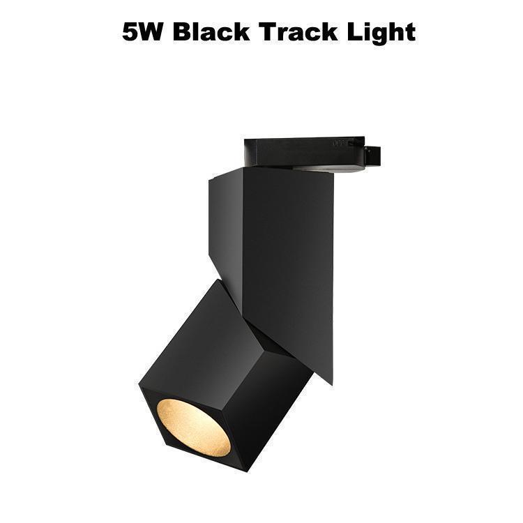 5 W Siyah Parça Işık
