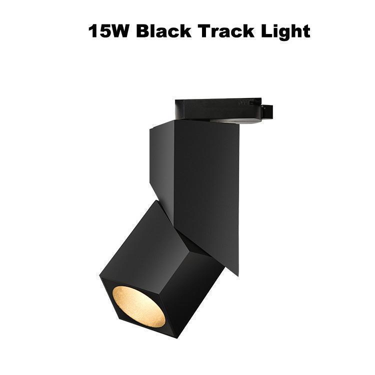 15 W Siyah Parça Işık