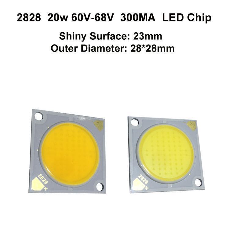 2828 20W 300MA 23MM LED Chip