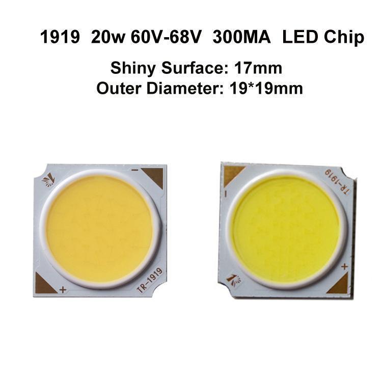 1919 20W 300MA 17MM LED Chip