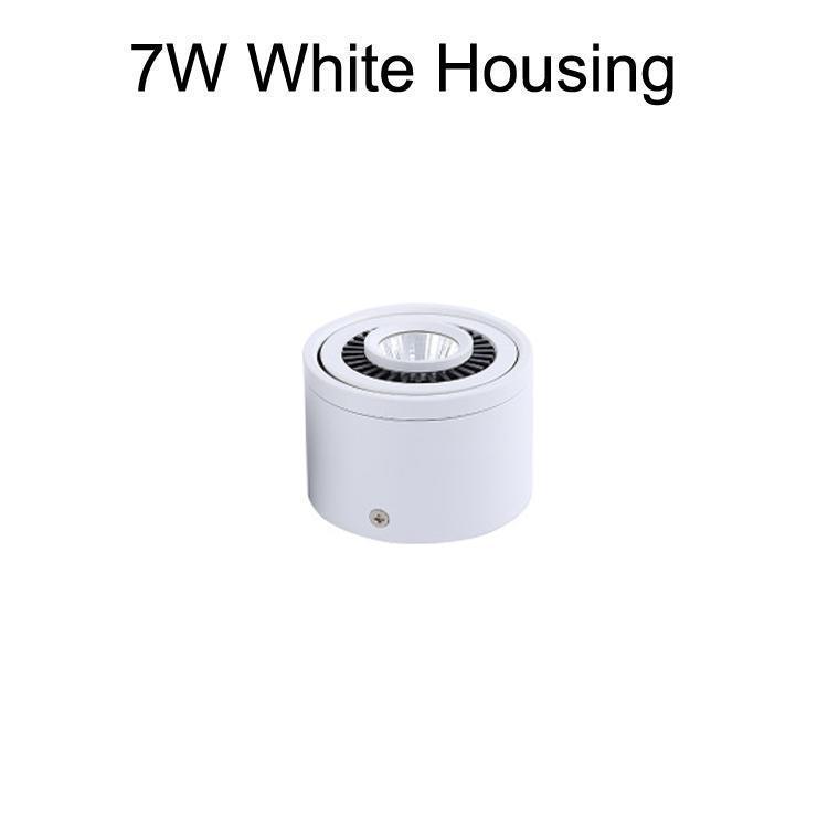 7W корпус белого цвета