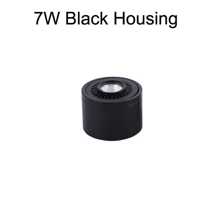 7W черный корпус