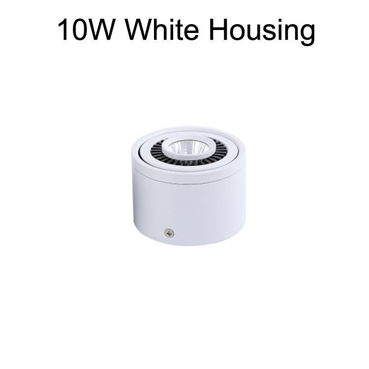 10Вт корпус белого цвета