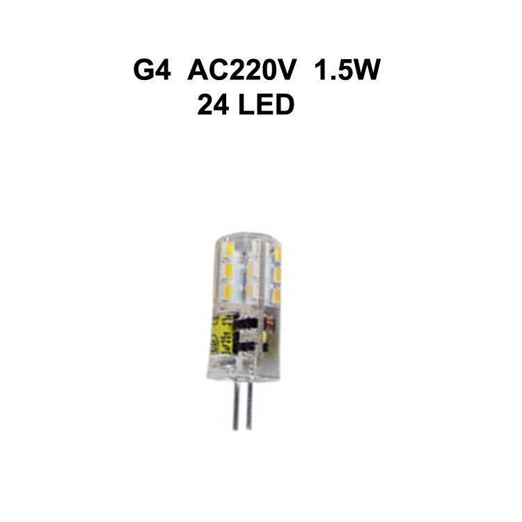 G4 1.5W AC220V
