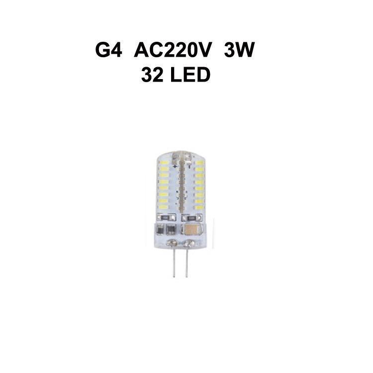 G4 3W AC220V