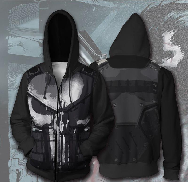 unisex Hoodie hooded top printed on the back MERMAID 00