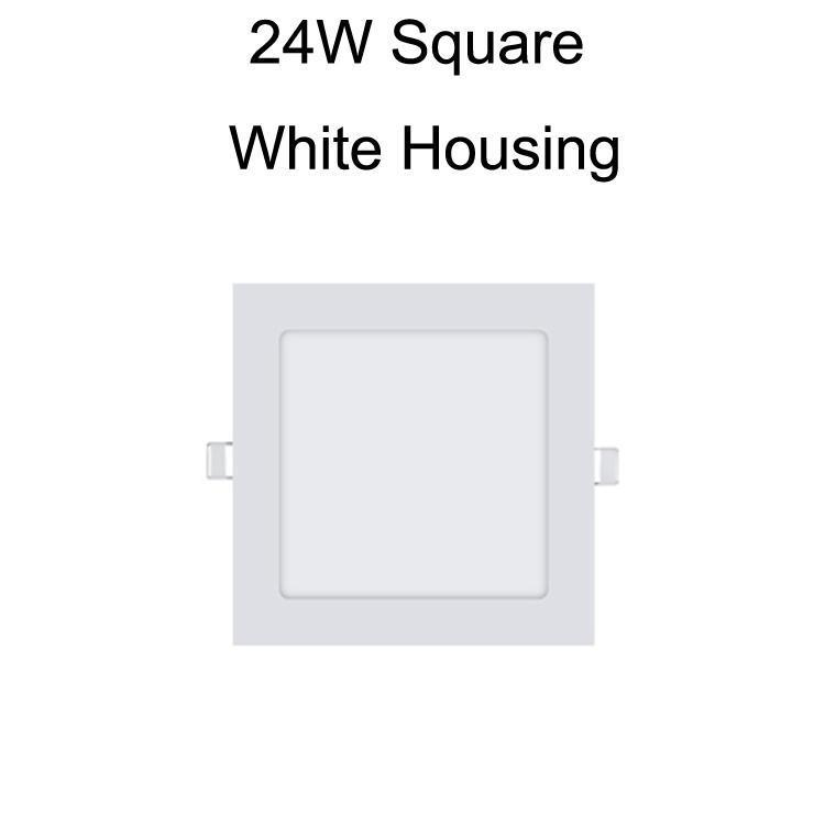 24W Kare Beyaz Konut