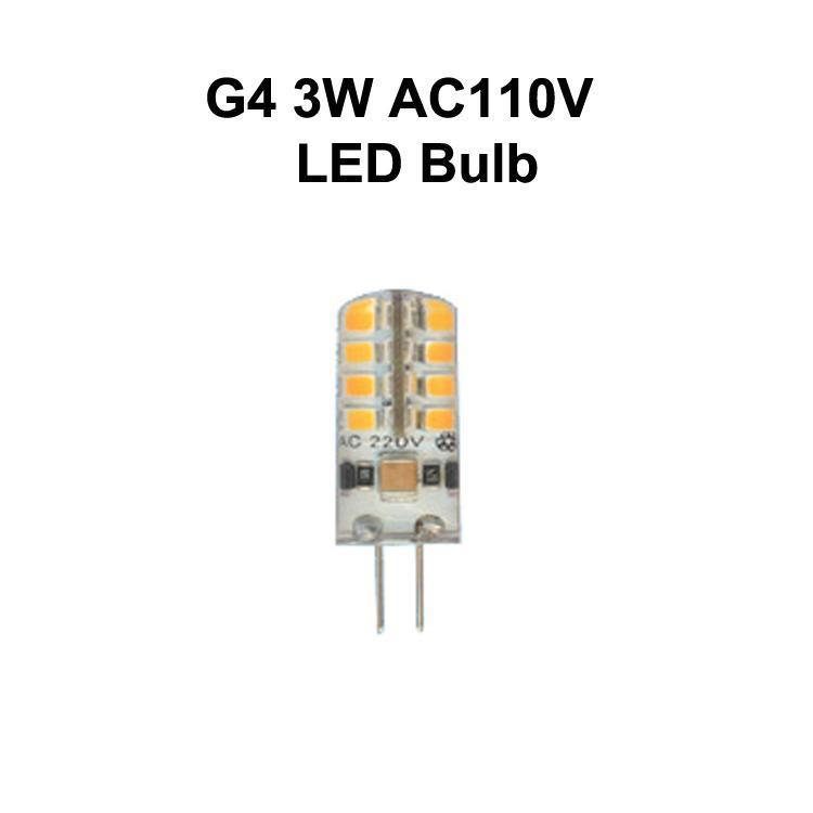 G4 3W AC110V