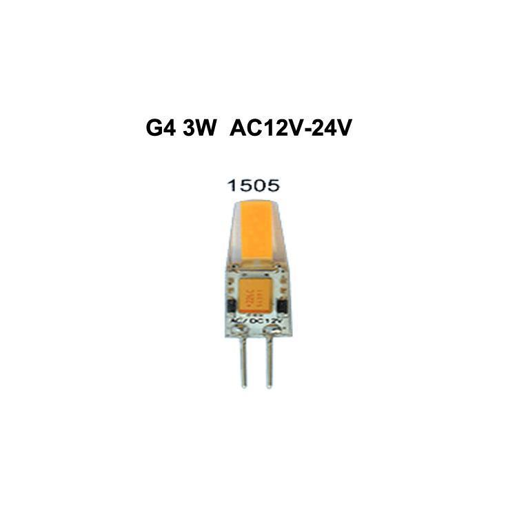 G4 3W AC12V-24V