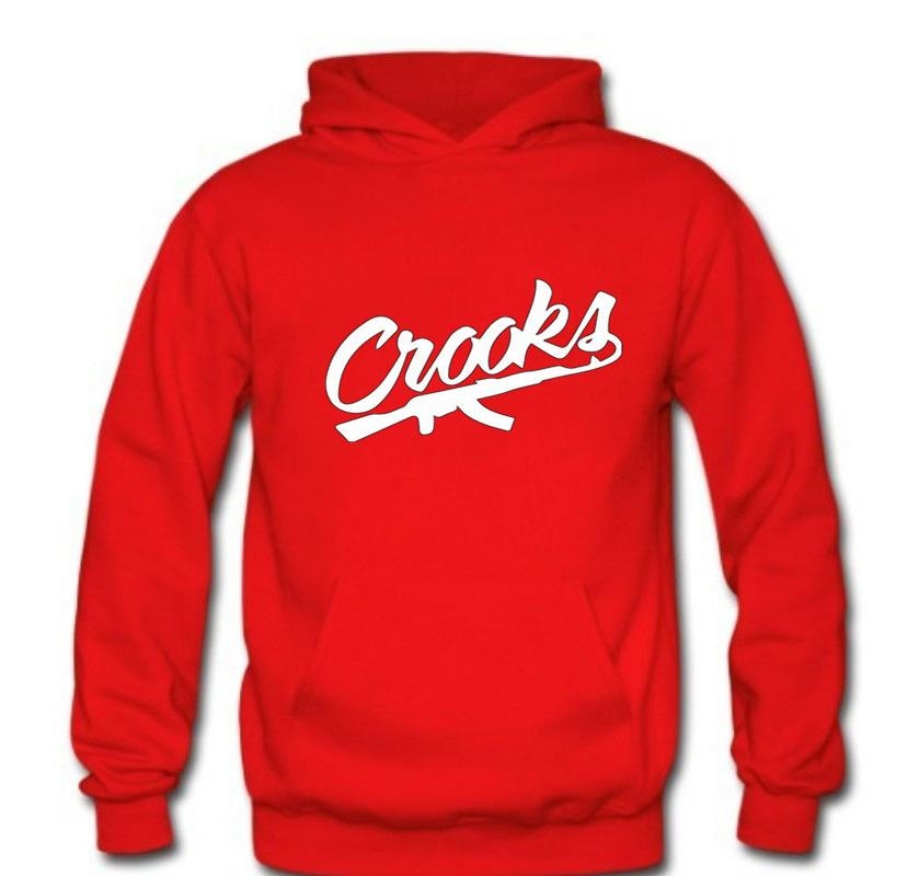 brand clothing Crooks And Castles fashion men sweatshirts 2017 new autumn winter warm hoodies men fleece loose men hoodie