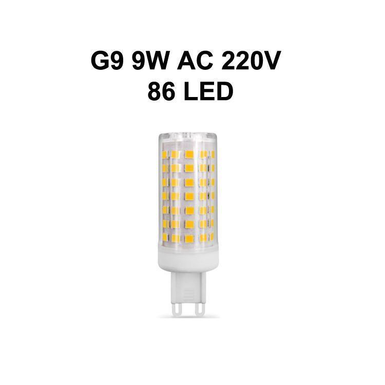 G9 9W AC220V 86LED
