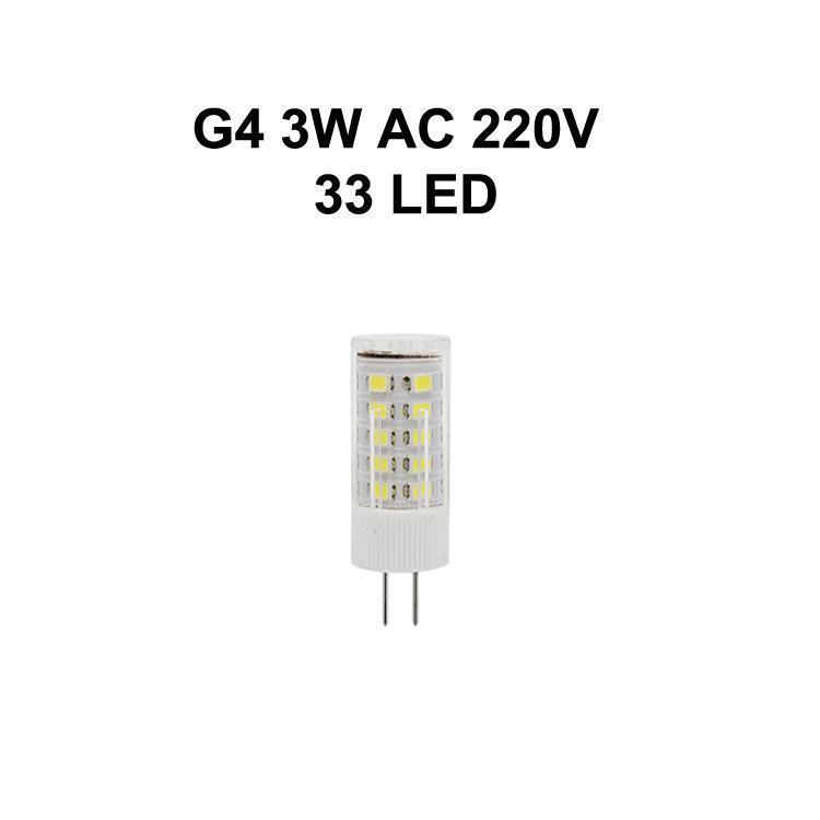 G4 3W AC220V 33LED