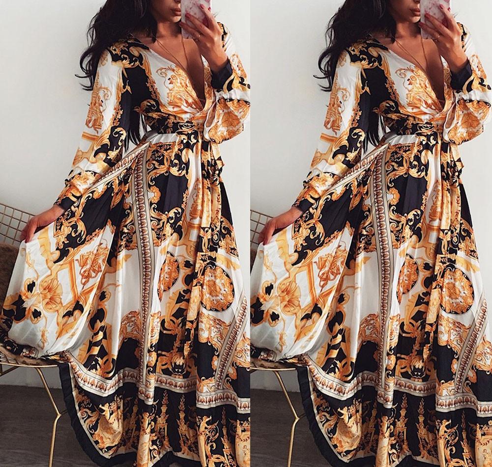 Women Plus Size Floral Leopard Mini Dress Summer Holiday Loose Fit Boho Sundress