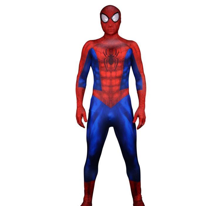 Compre Super Heroi Homem Aranha Cosplay 3d Imprimir Lycra Fullbody