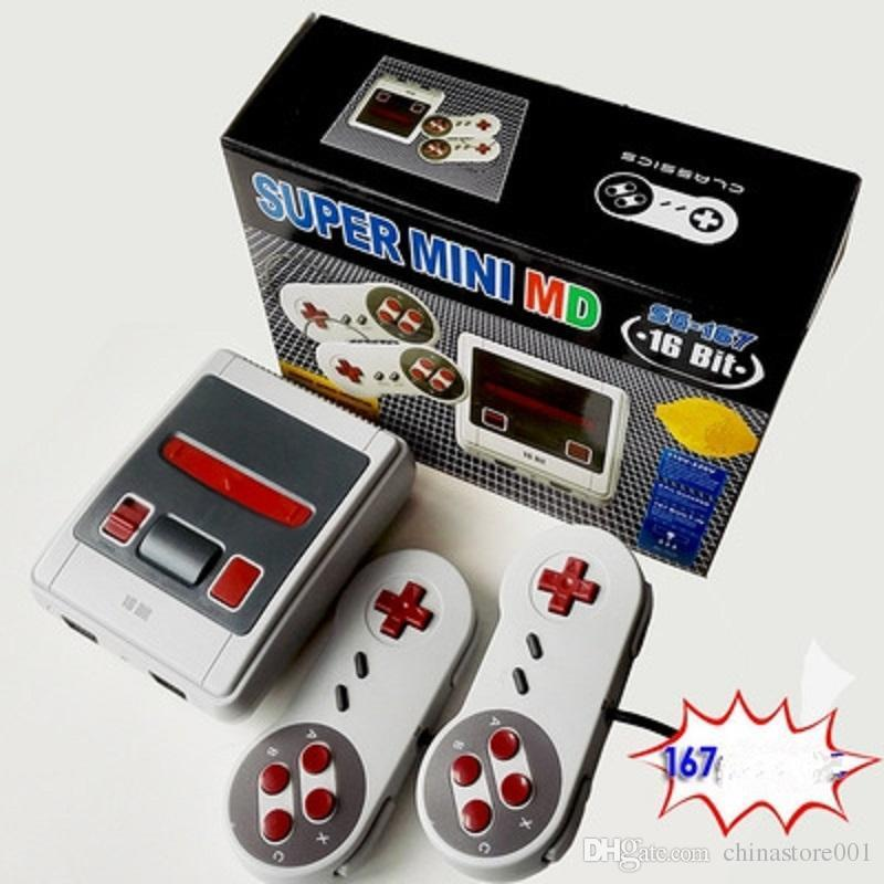 For 16bit 167 MD consoles with US plug