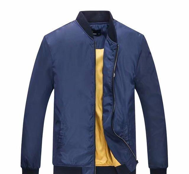 NEW 2018 Fall thin Men sportswear jacket high quality waterproof fabric Men sports jacket Fashion zipper jacket