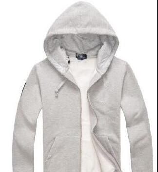 NEW Top Quality robin fleece men`s gold polo long-sleeved casual hoodies coat Autumn Winter Zipper fleece sweater jackets polo jerseys