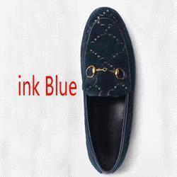 Tintenblaue Samt + Buchstaben