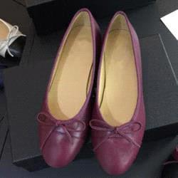 All wine red leather