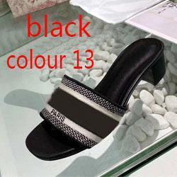 color 13 negro