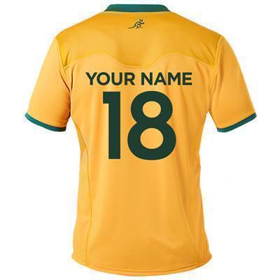Custom name and number