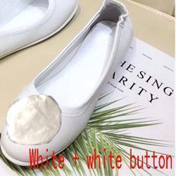 White + white buckle