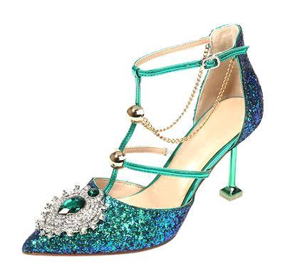 green blue crystal,come with box