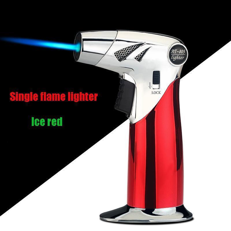 Einzelne Flamme leichter / Ice rot