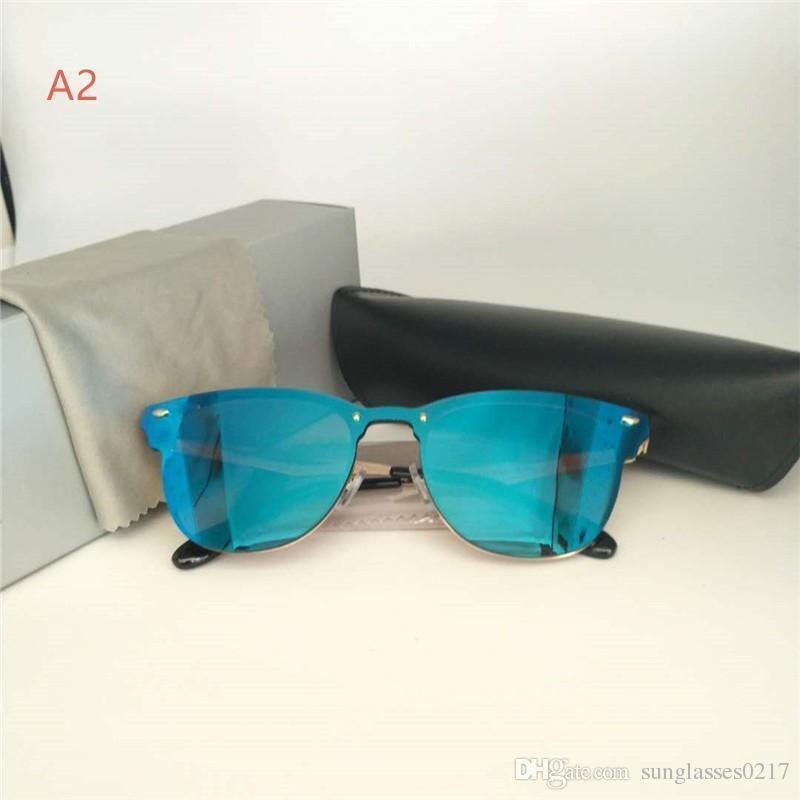 голубая линза A2