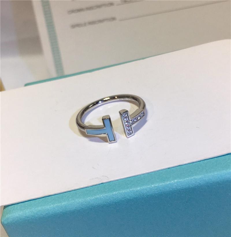 anneau bleu T