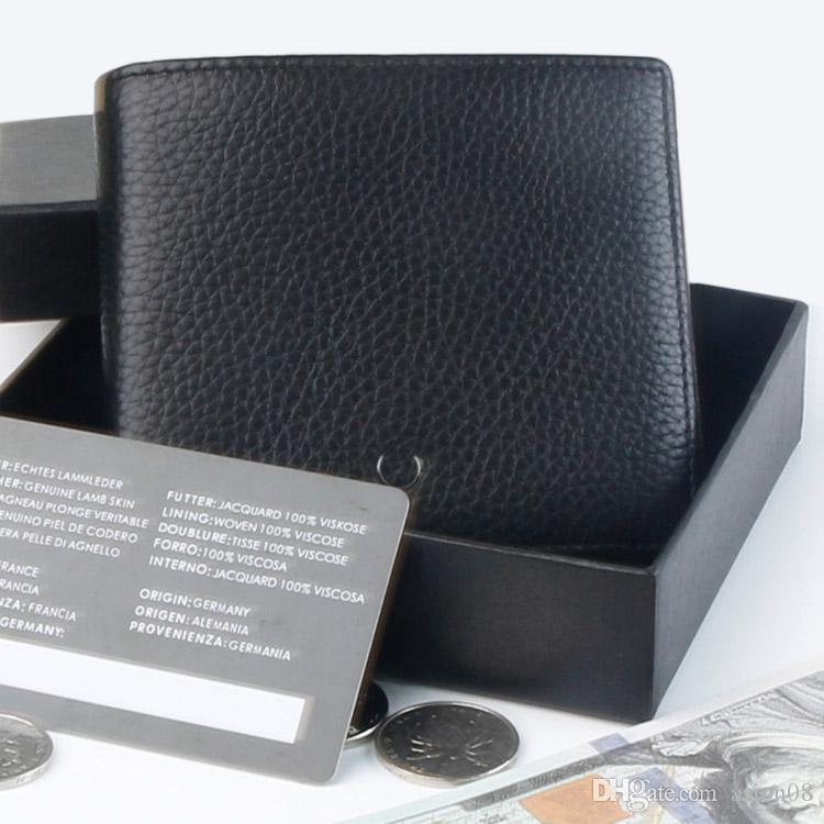 8 portafoglio e scatola