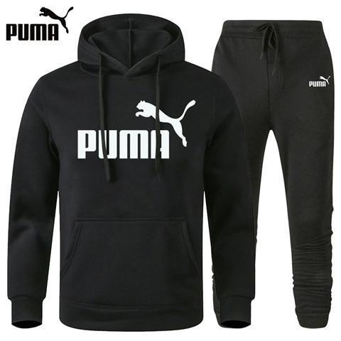 puma tracksuit mens white