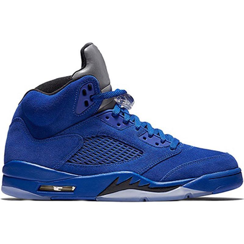 A4 Blue suede 36-47