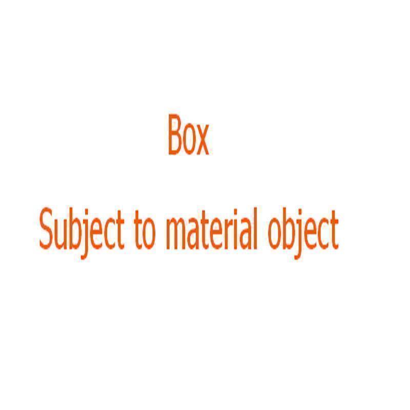BOX (pas de sac)