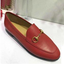 Red leather + apricot lining
