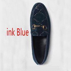 Ink blue velvet+ letters