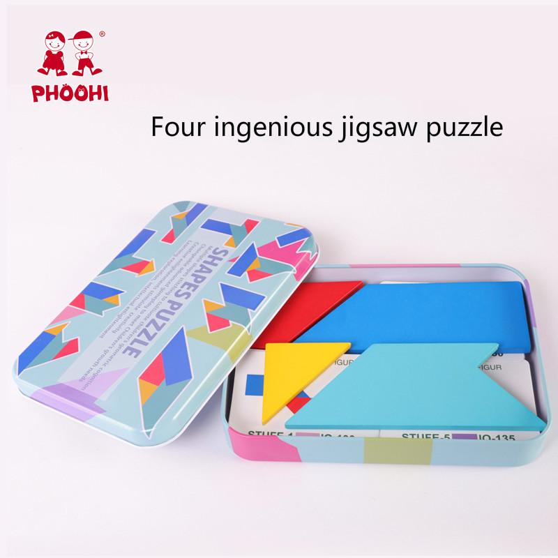 4 ingenious jigsaw