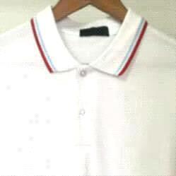Blanc / Bleu Stripe