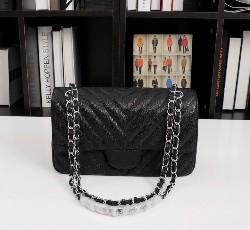 Caviar-Black con Silver-V