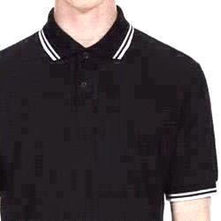 Black / White Stripe